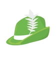 Irish hat isolated icon vector image