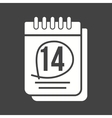 Marked Calendar vector image