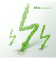 nature abstract eco concept vector image vector image