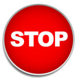 no entry stop forbidding concept signs vector image vector image