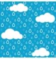 Rain pattern vector image