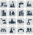 energy and industry icons set vector image vector image