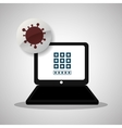 Security System design Protection icon Isolated vector image