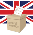 UK Ballot Box vector image