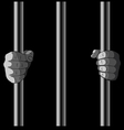 In Jail vector image
