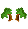 3d design for coconut tree vector image