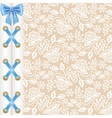background with corset lacing vector image vector image