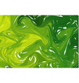 green light abstract background ink marbling vector image
