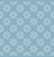 seamless snow flakes vector image vector image