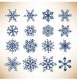 snowballs vector image vector image