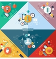Strategy Concept Set vector image vector image