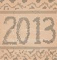 2013 snake skin vector image vector image