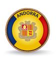 Andorra Seal vector image vector image