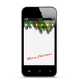 Christmas mobile phone vector | Price: 1 Credit (USD $1)