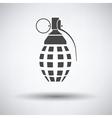 Defensive grenade icon vector image