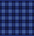 gingham seamless plaid pattern vector image