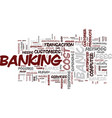 learn how to bank like a banker text background vector image vector image