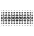 query shape halftone grid vector image