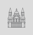 St Paul s Cathedral vector image vector image