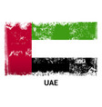 uae flag design vector image