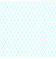 background with blue diagonal grid vector image vector image