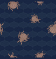 bee beetles fly maryls wasp seamless pattern vector image vector image