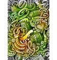 beer fest hand drawn doodle banner cartoon