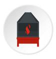 blacksmith icon circle vector image vector image