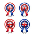 British rosettes vector image vector image