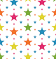 Colorful Starfishes Summer Seamless Background vector image vector image