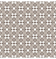 fair isle style white beige brown seamless pattern vector image vector image