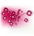 flower design vector image vector image