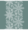 Old lace vertical seamless pattern vector image