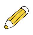 pencil storage doodle icon vector image
