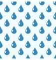 Rain seamless background vector image