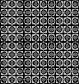 The pattern of cubic colors in black and vector image