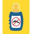 Mosquito free spray Insects repellent vector image