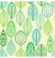 Seamless hand drawn vintage pattern vector image