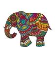 Decorative elephant vector image vector image