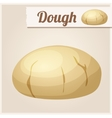 Dough Detailed Icon vector image vector image