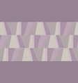 geometric striped seamless wallpaper in pale rose vector image vector image