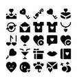 Love and Romance Icons 8 vector image vector image