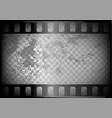 old film on transparent background vector image