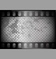 old film on trasparent background vector image vector image