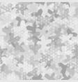 seamless digital arctic snow spot camo texture for vector image vector image