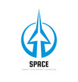 space - concept logo template vector image