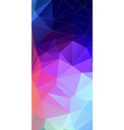 vertical triangle bright color background vector image vector image