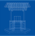 water well project vector image