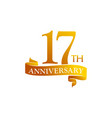 17 year ribbon anniversary