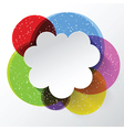 abstract cloud background 2009 vector image vector image